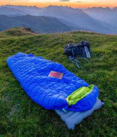 Topla in udobna spalna vreča